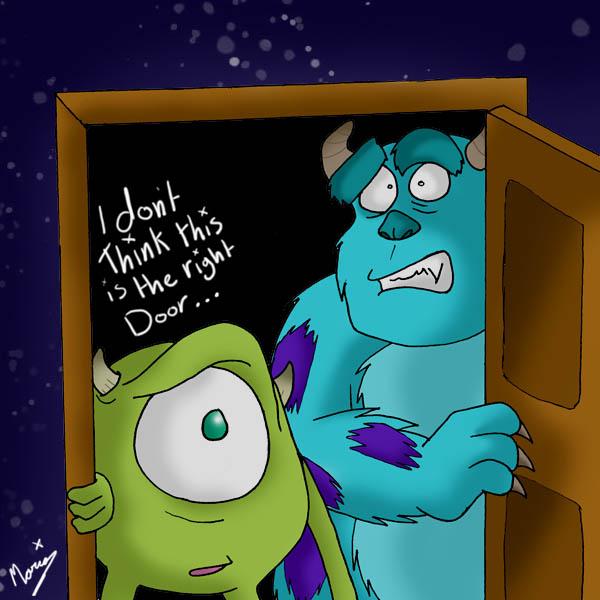 Wrong door by kosmo1995 ... & Wrong door by kosmo1995 on DeviantArt