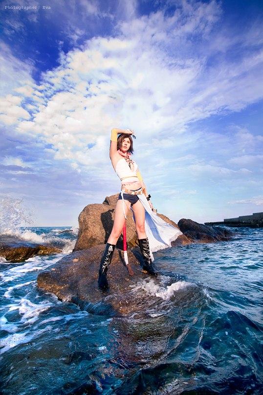 Yuna (Final Fantasy X-2) by HeatherTakarai