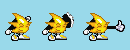 Ristar Thumbs up sprites by Monkeymanbw