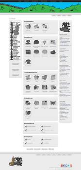 BunnyRabbitSex.com New Design (Front Page)