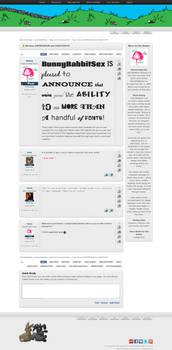 BunnyRabbitSex.com New Design (Actual Content)
