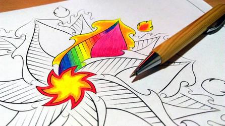 Firecracker Mandala
