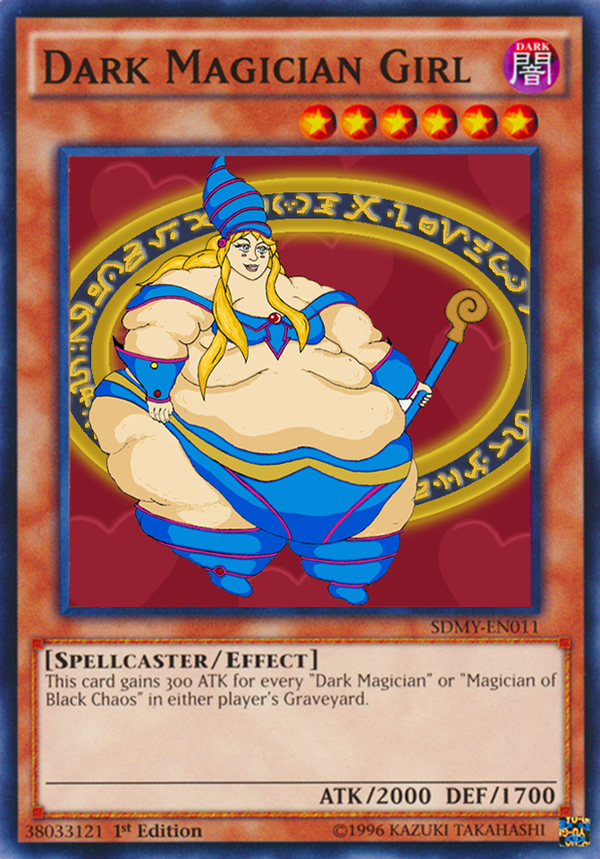 Fat Magician Girl by ScareGlow