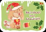 open ota hot chocolate reindeer adopt by eggnormous