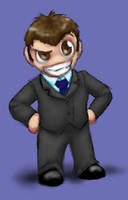 Whooligans: Evil Chibified by JesIdres