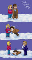 Chibi Snow Day