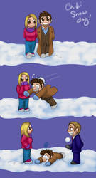 Chibi Snow Day by JesIdres