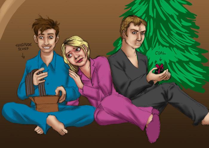 A Bit of Christmas Karma by JesIdres