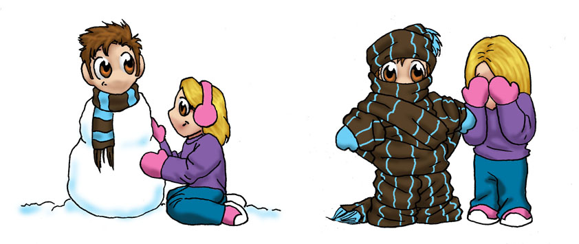 A Chibi Holiday by JesIdres