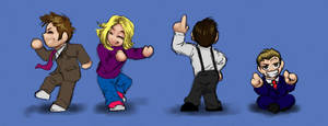 Chibi Dance in the New Year