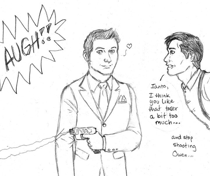 Torchwood Taser Fun by JesIdres