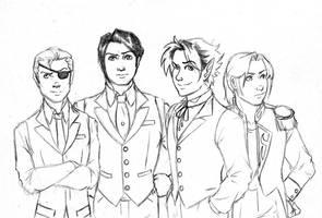 My Boys -BW- by JesIdres