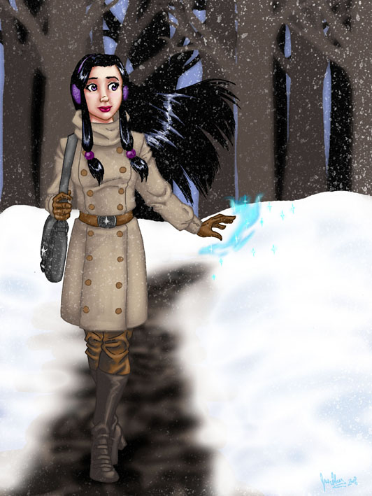 Snowday Magic by JesIdres