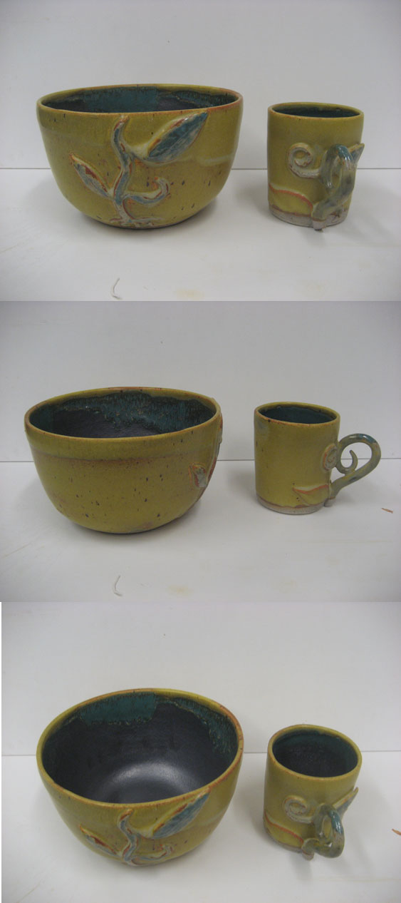 Plant Pottery Set by JesIdres