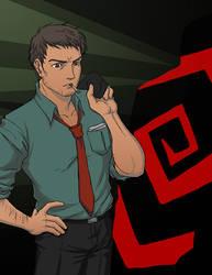 Ryotaro Dojima, Detective DILF by JesIdres