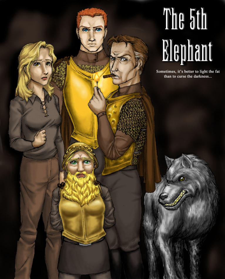 The 5th Elephant - Colored by JesIdres