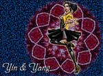 Yin and Yang:Starburst Mandala by JesIdres