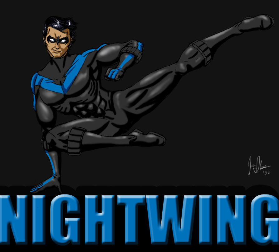 Nightwing: Real Hero by JesIdres