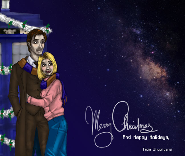 Whooligans: A Tardis Christmas by JesIdres
