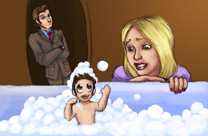 Whooligans: Bubblebath Chibi by JesIdres