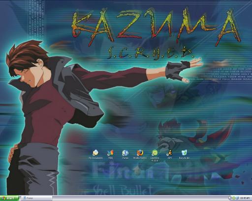 Desktop Screenshot - Kazuma by BandaidPorn