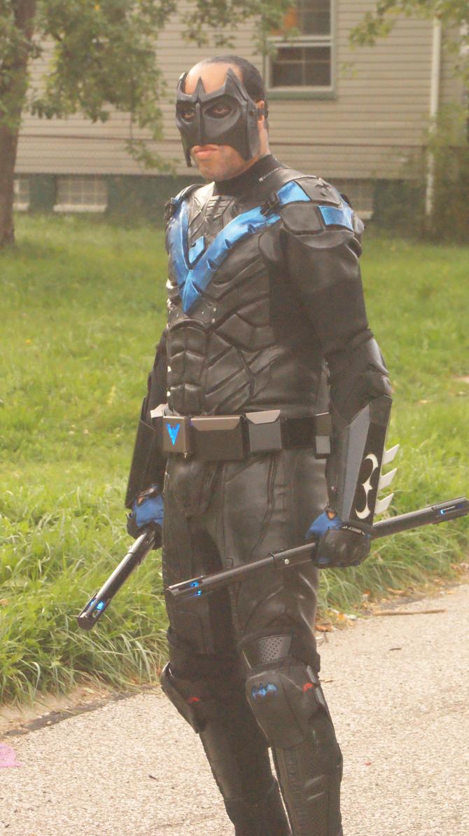 Nightwing Arkham Knight 2 by BludhavenStudios