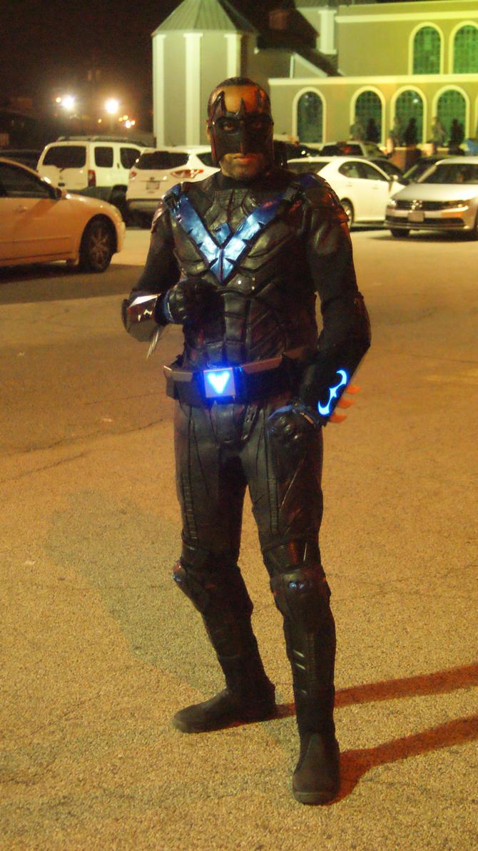 Nightwing Arkham Knight by BludhavenStudios