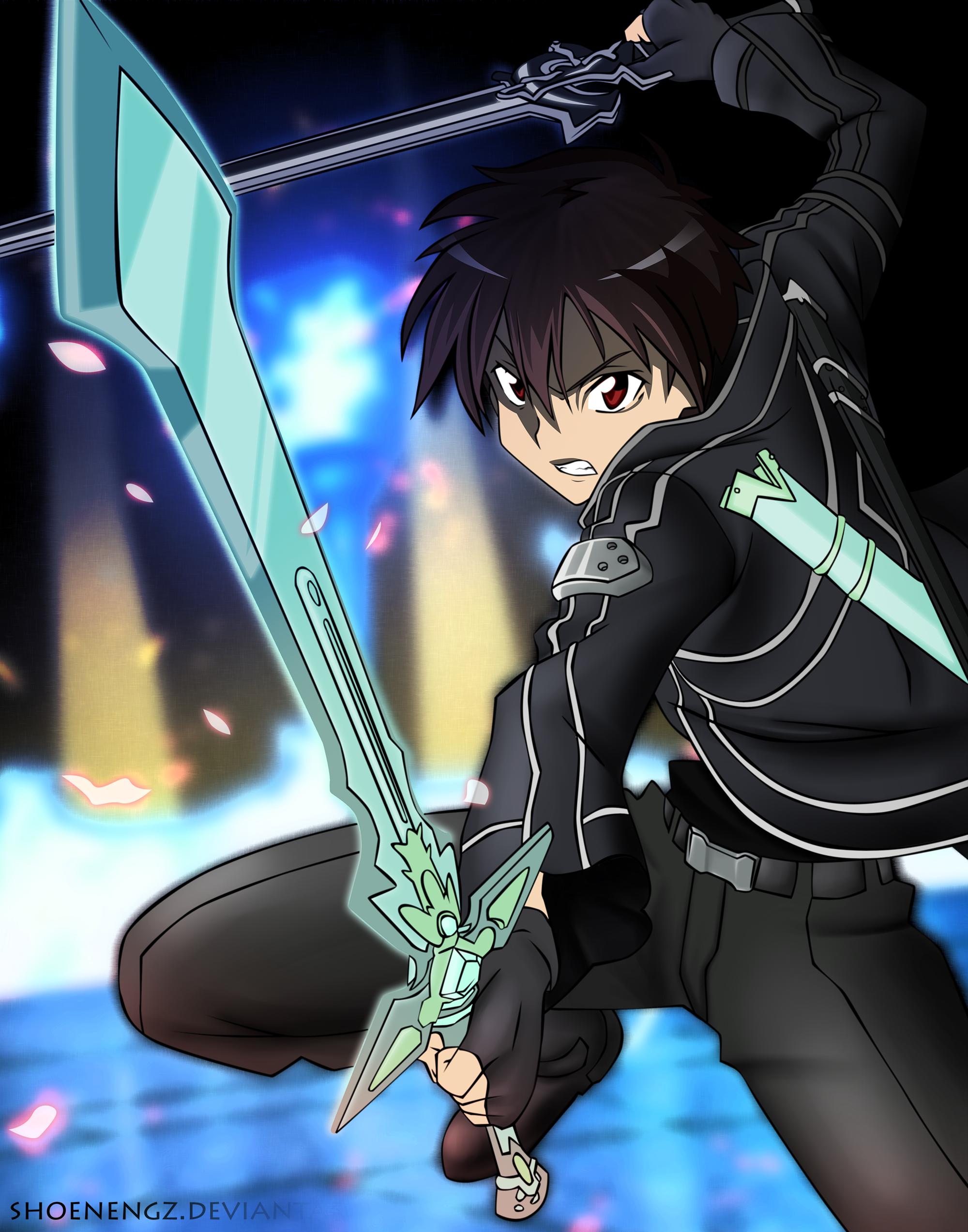 SAO Kirito By Shoenengz On DeviantArt