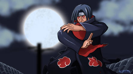 Itachi Uchiha by shoenengz