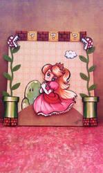 Princess Toadstool Portrait by iInhaleGlitter