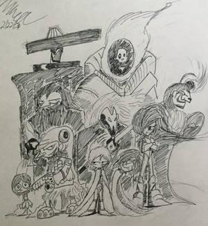 The Black Hole Mercenaries ( OC ).