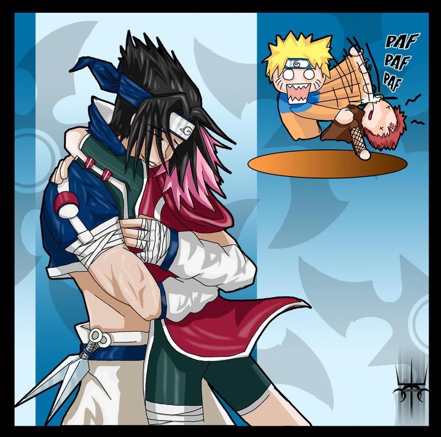 sasuke essaye de tuer sakura