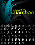 Lucky Bamboo Photoshop Brushes