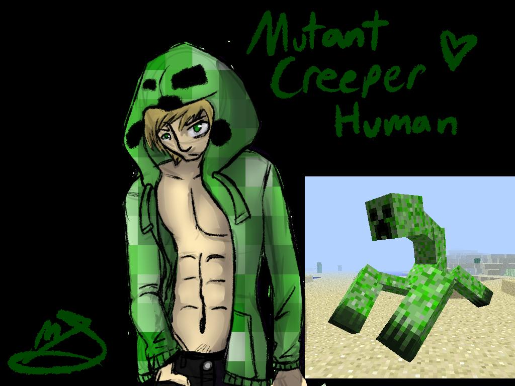 Mutant Enderman... Minecraft Real Life Mutant Creeper
