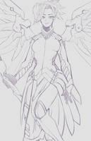 Mercy - Overwatch by vanelover