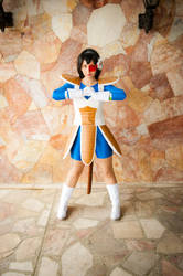 Princess Vegeta or Vegeta Genderbend by BabiM