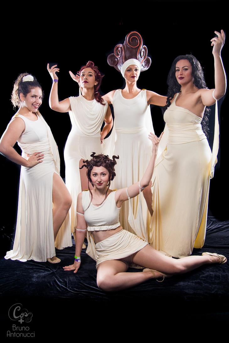 Hercules Muses by BabiM