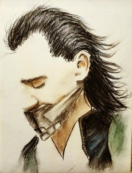 Loki Sketch by JacqueMatt