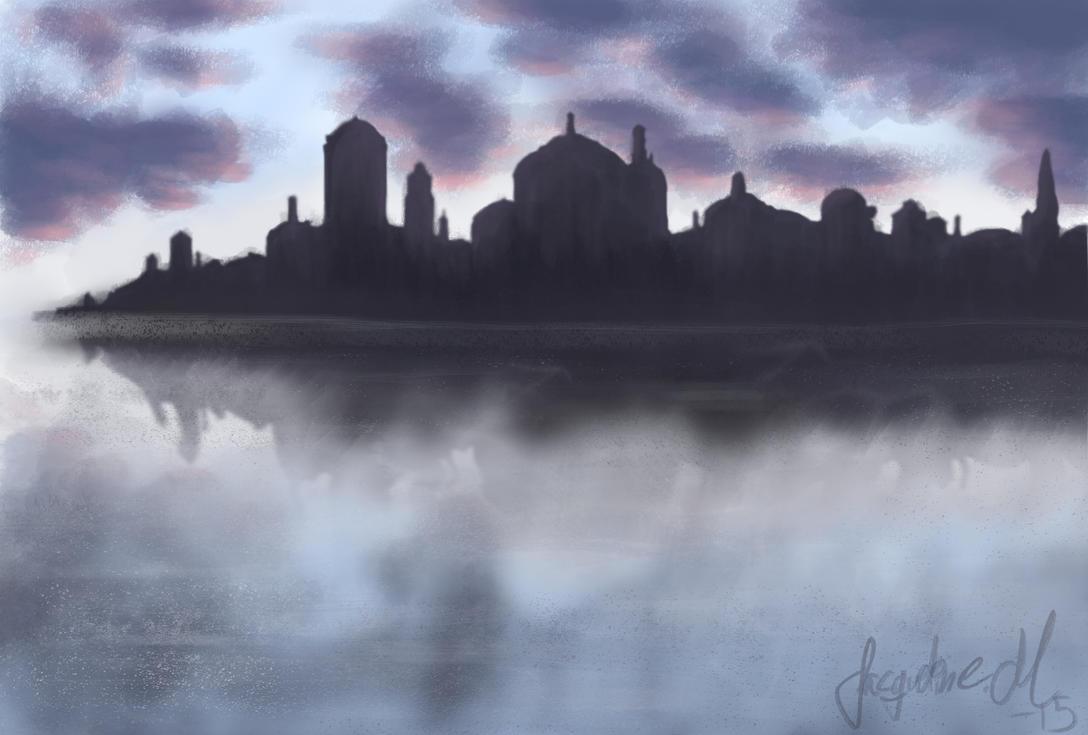 Cityscape - study by JacqueMatt