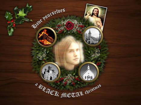 Black metal christmas