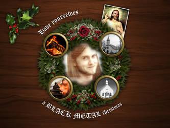 Black Metal Christmas by viechacik