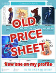 2018/Commissions prices - [OLD PRICE SHEET]