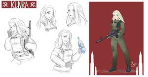 [COMMISSION SKETCH PAGE] Klara