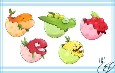 Creatures - Fruits