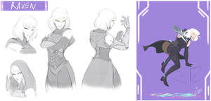 [COMMISSION SKETCH PAGE] Raven
