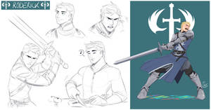 [COMMISSION SKETCH PAGE] Roderick