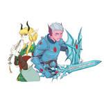 [COMMISSION - Bust] Nasera and Neptiti