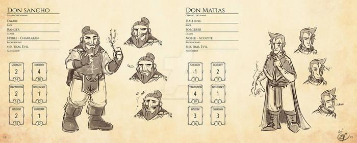 HERNANI - DnD version - Minor characters 1