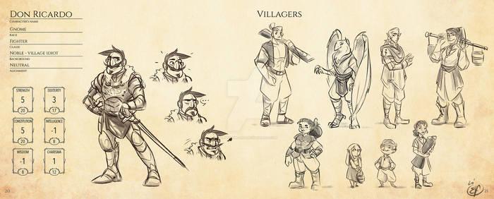 HERNANI - DnD version - Minor characters 2