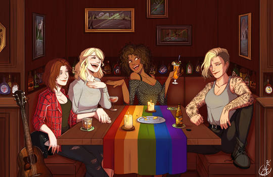 [COMMISSION special] Evening in a bar